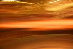 skutka abstrakcjonistyczny oświetlenie Obrazy Royalty Free