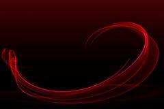 skutka czerwieni dym Zdjęcia Royalty Free