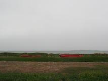 Skutustadir, piękny icelandic krajobraz obraz royalty free