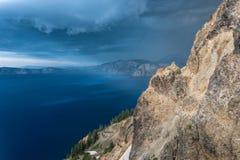 Skvallerbytta för stormmoln runt om Garfield Peak fotografering för bildbyråer