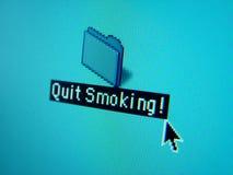 skwitowany ikony dymienie zdjęcie royalty free