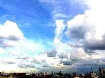 #Sky曼谷 免版税库存图片