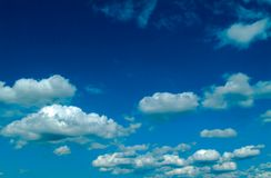 Sky. Clouds Stock Images