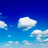 Sky. Blue sky and white clouds Stock Images