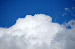 Sky. And clouds after several days of rain Royalty Free Stock Image