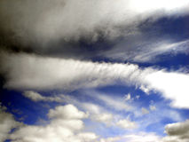The sky. And clouds Stock Photography