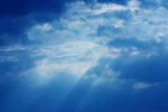 Sky. Blue sky and clouds XXL royalty free stock photos