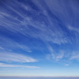 Sky. Beautiful cirrus clouds against the blue sky Royalty Free Stock Photos