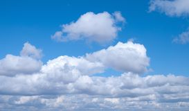 Sky. Nice Blue sky with clouds royalty free stock images