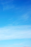 Sky. Background abstract: blue sky and clouds Stock Photography
