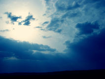 Sky. A beautiful sky with clouds Royalty Free Stock Image
