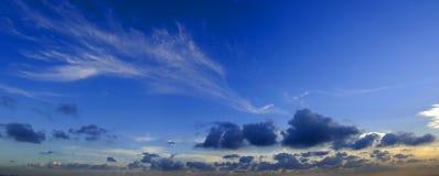 The sky