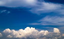 Sky. I just like this sky and cloud Royalty Free Stock Image