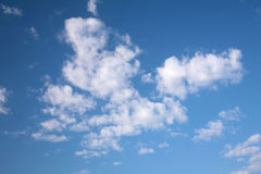 Sky. Blue sky with white clouds Stock Photo