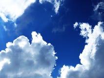 Sky. Daylight,summer,2008,august,Krkonoše Stock Image
