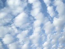 Sky. Pretty clouds royalty free stock image