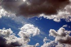Sky. Overcast sky stock photos