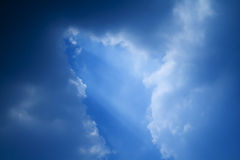 Sky. And clouds Royalty Free Stock Image