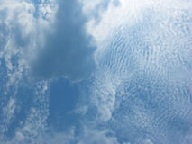 Sky. Abstract blue sky with clouds stock photos