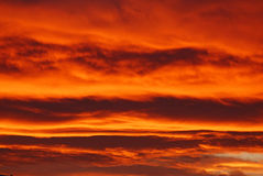 Sky Ablaze! Royalty Free Stock Images