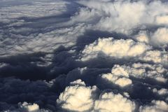 Sky above cloud view from air plane window, nature background view. Sky above cloud view from air plane window, nature background stock photo