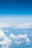 Sky above the clouds. Royalty Free Stock Photo