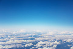 Sky above the clouds Royalty Free Stock Image