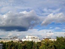 Sky above Kazan Stock Image