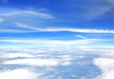 Sky abstract background Royalty Free Stock Images