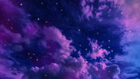 Sky abstract. Space night sky with cloud and star, abstract background stock images