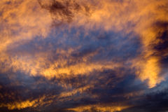 Sky Abstract at Sunset Missoula Montana Stock Photos