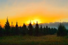 Sky, Afterglow, Atmosphere, Morning royalty free stock images