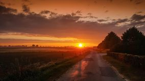 Sky, Afterglow, Horizon, Sunrise royalty free stock photo
