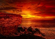 Sky, Afterglow, Red Sky At Morning, Sunrise royalty free stock image