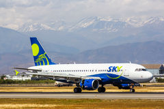 Sky Airline Airbus A319 Royalty Free Stock Images