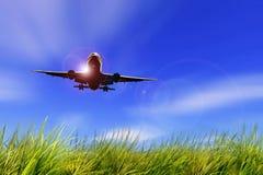 Sky, Airplane, Air Travel, Daytime Royalty Free Stock Photos