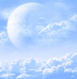 Sky in alien planet Royalty Free Stock Photography