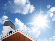Free Sky And Roof Royalty Free Stock Photography - 22011887