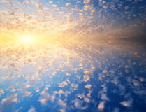 Free Sky And Water Background Royalty Free Stock Photo - 52498335