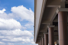 Sky with architecture at satun.  Royalty Free Stock Images