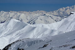 Sky Areas, Panorama of the Hils, Les Deux Alpes, France, French Stock Photos