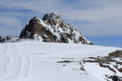 Sky Areas, Panorama of the Hils, Les Deux Alpes, France, French Stock Images