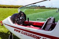 Sky Arrow 450T/TS Ultralight Airplane Cockpit Stock Image