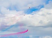 Sky Arrows Show Royalty Free Stock Photography