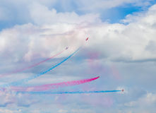 Sky Arrows Show Stock Photos