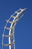 Sky Art. Modern abstract building royalty free stock photos