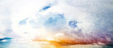 Sky art Royalty Free Stock Photo