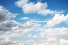 Sky as background Royalty Free Stock Photography