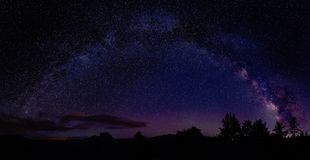 Sky, Atmosphere, Night, Galaxy royalty free stock photography