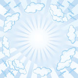 Sky-a-background Stock Image